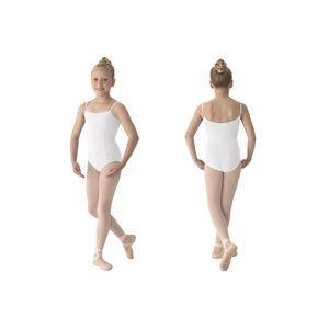 White Mirella leotards - child sizes